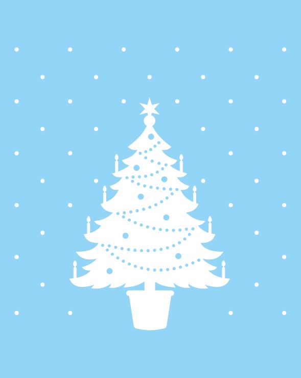 Statische raamstickers Kerst