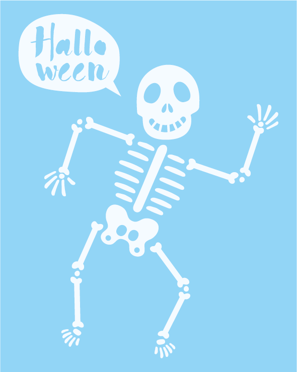 Statische raamstickers Halloween