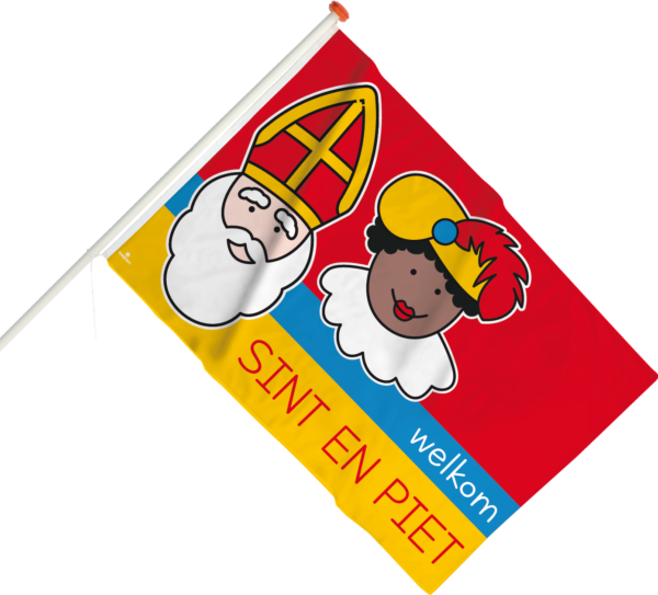 Vlag Sint en Piet