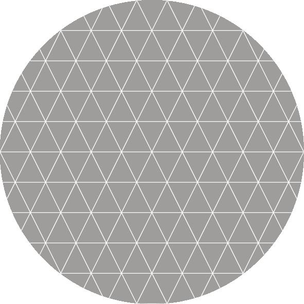 muurcirkel patroon beige wafel
