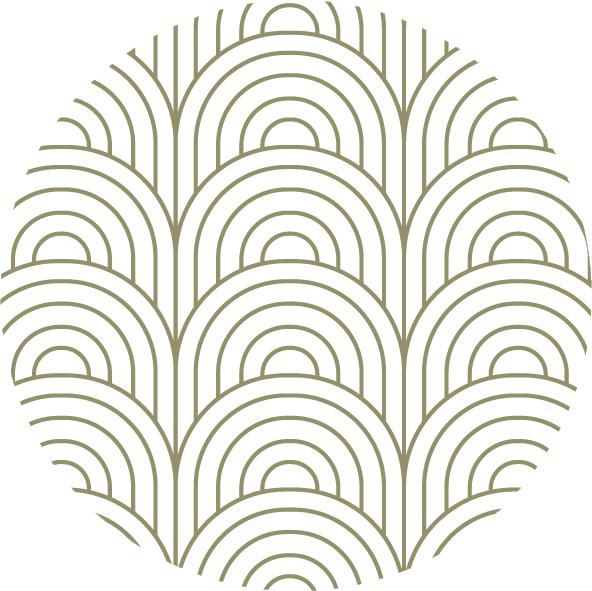 muurcirkel patroon groep boog
